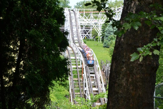 "What exactly remains from the original Jack Rabbit? ""Nothing,"" says Kennywood general manager Jerome Giba, who says most of its tracks get replaced every 10 years. ""Other than the blueprints, everything is eventually replaced."""