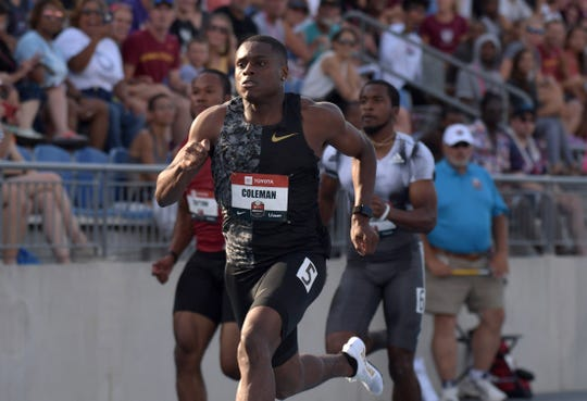 Report: Sprint star Christian Coleman could face ban after three missed drug tests