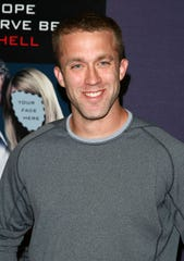 "Screenwriter Tucker Max attends the New York premiere of ""I Hope They Serve Beer in Hell"" at the AMC Empire 25 on September 3, 2009 in New York City."