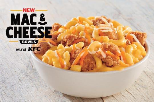 KFC's Mac & Cheese Bowls.
