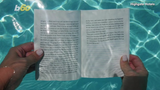 Don't you just love laying by the pool and reading a good book? What if you could actually be in the pool and continue to read it? Buzz60's Maria Mercedes Galuppo has more.