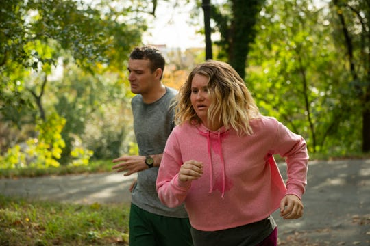 "Brittany winds up making friends throughout the process of becoming a runner in ""Brittany Runs a Marathon."" The movie is inspired by a true story."