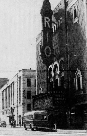 This Post-Crescent file photo of the Rio Theater in Appleton was taken in the 1930s.