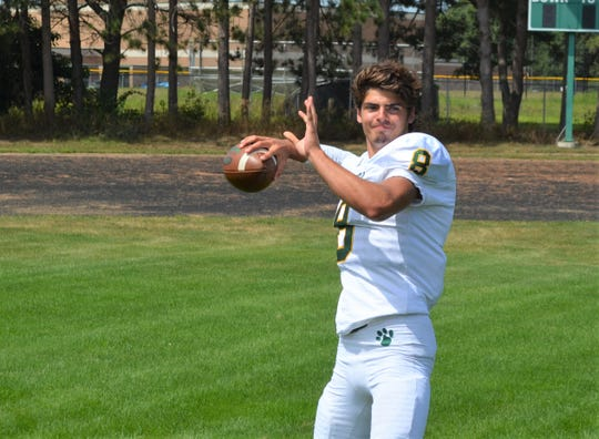 Pennfield's Ryne Petersen is a returning starter at quarterback for the Panthers and a rising prospect as a junior.