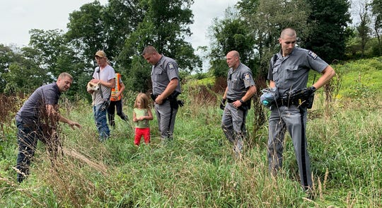 A 5-year-old and her dog who were reported missing in Delaware County, New York, was located safe on Friday, Aug. 23, 2019.