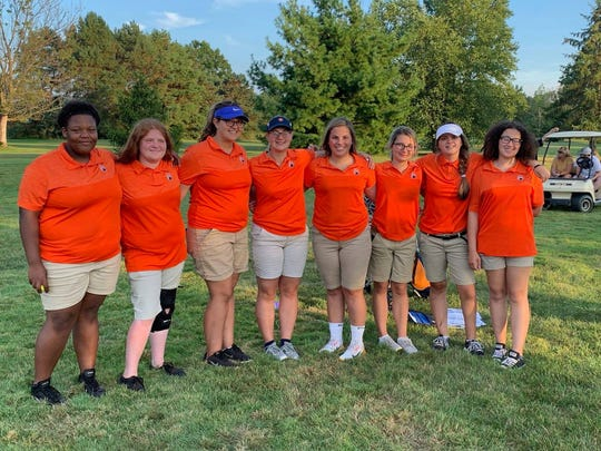 The Galion girls golf team won their first match of the season Wednesday afternoon.