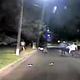 What happened the night Pemberton police shot and killed a man on darkened street?