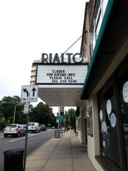 The Rialto Theater in Westfield closed suddenly on Friday.