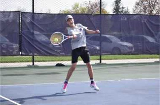 Waukee High School tennis player Steven Danna was diagnosed with a malignant bone tumor in May.