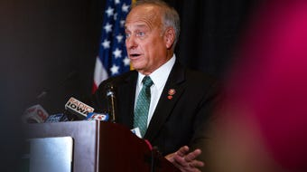 "U.S. Rep. Steve King said Friday that the media misconstrued his views on abortions and rape, but stood his ground that there may not be ""any population of the world left"" if people conceived by rape and incest hadn't been born."