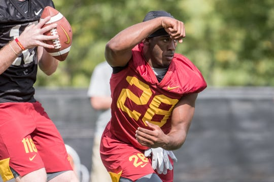 Iowa State freshman Breece Hall has the makings of something special in Ames.