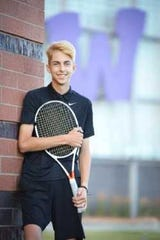 Steven Danna was diagnosed with a malignant tumor in his knee during the spring tennis season. Two students from Cedar Falls have organized a tennis tournament in his honor this weekend in Urbandale.