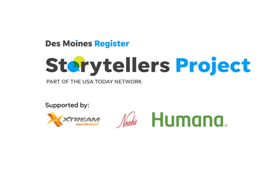 The Des Moines Storytellers Project is presented by the Des Moines Register and supported by Xtreme, powered by Mediacom, Noah's, and Humana.