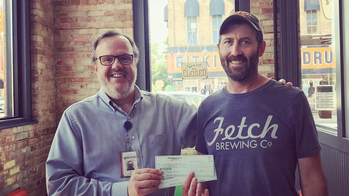 Another Michigan brewery pays off students' lunch debt