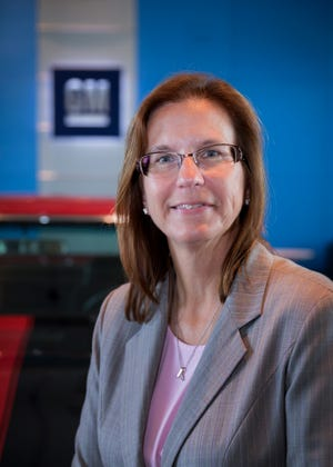 Maryann Combs, General Motors vice president of Global Vehicle Safety.