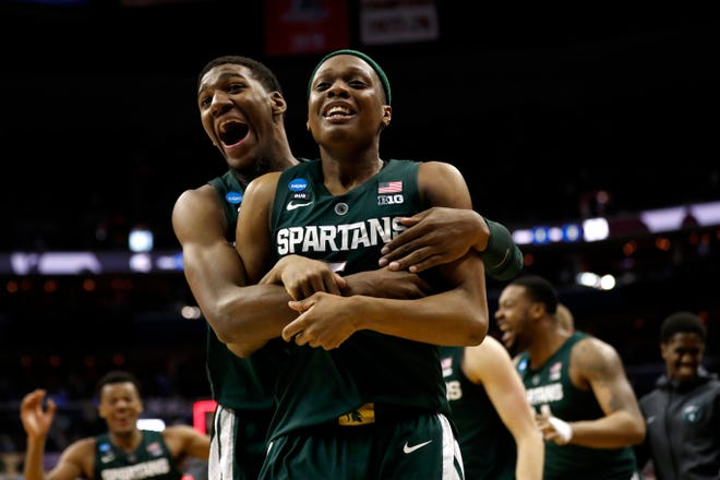 Aaron Henry, Cassius Winston and the Spartans face Michigan on Jan. 5 and Feb. 8.