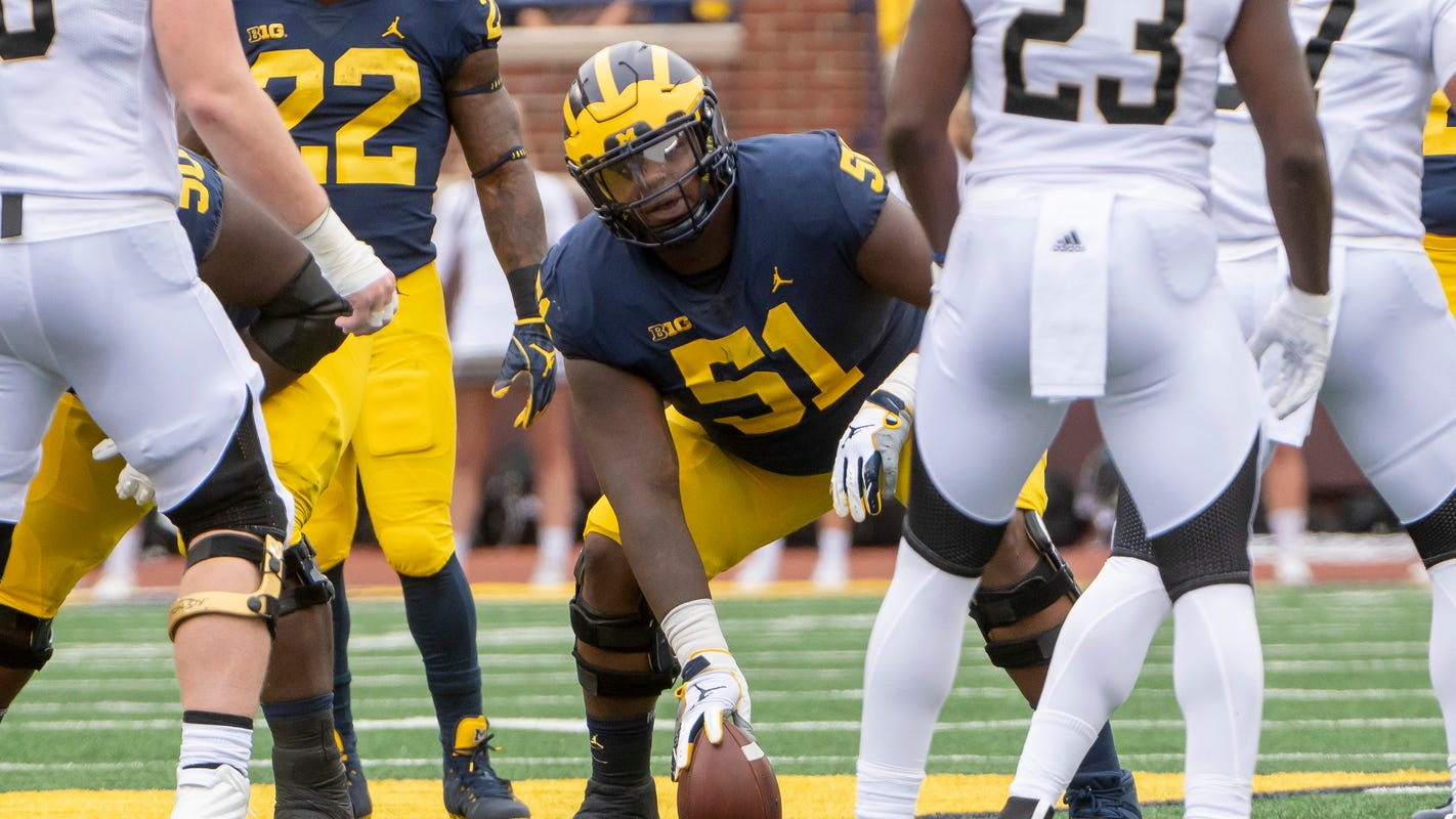 'Completely different': Cesar Ruiz sheds 'chubby' look for Michigan's new offense