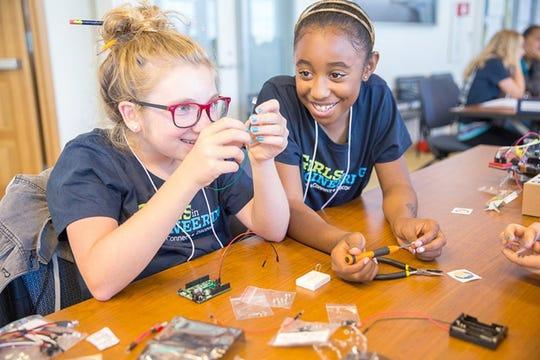 The Girls in Engineering program at UC Berkeley.