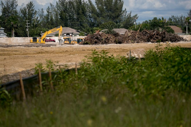 A new 228-unit apartment complex is under construction near the corner of Surfside Boulevard and Veterans Parkway in Cape Coral.