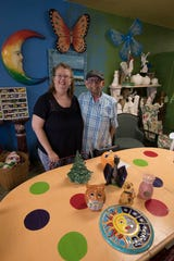 Gail and Pepe Velasquez are the owners of The Paint Escape in Cape Coral.