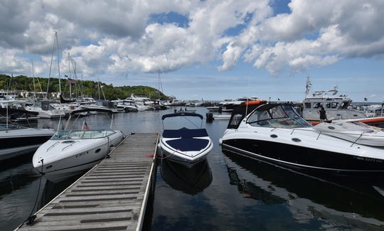 Boats of all kinds come to Sister Bay Marina each Labor Day weekend for its annual Marina Fest, taking place Aug. 31 to Sept. 2.