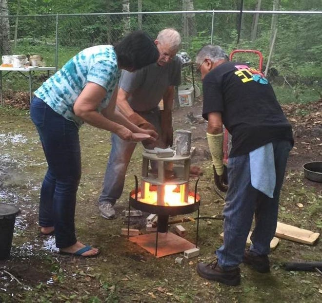 Pottery-firing demonstrations will again be part of the Gills Rock ArtFest, planned this year on Aug. 31 and Sept. 1.