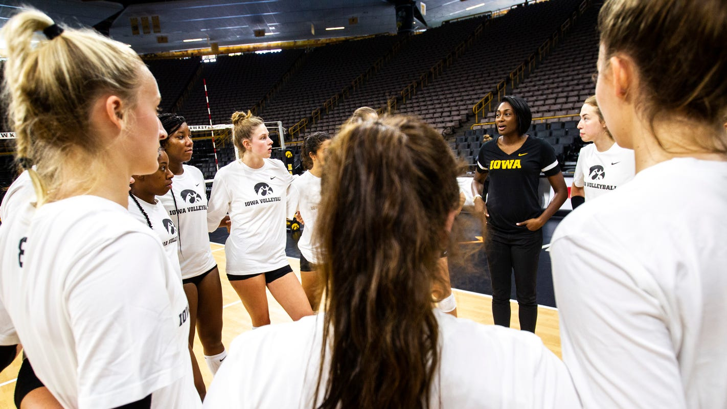 After tumultuous offseason, Iowa volleyball hopes stabilization is ahead