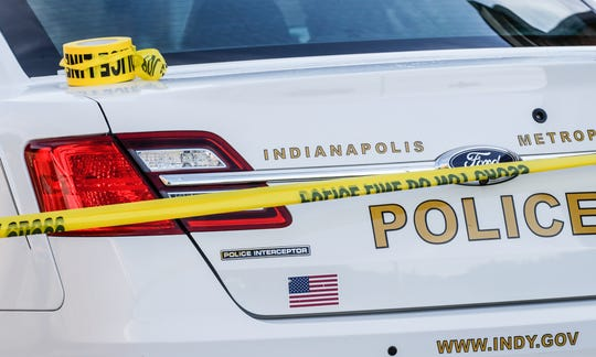 An officer-involved shooting left a man hospitalized Saturday morning.