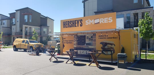 The Hershey's Heartwarming Tour will be offering free s'mores to the Indianapolis area at a pop-up stand in Zionsville on Sept. 7-8.