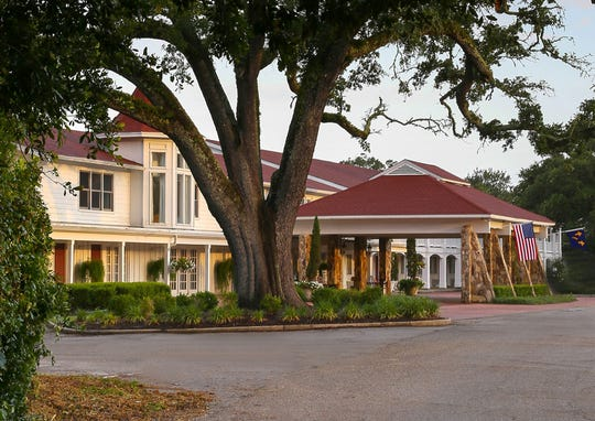 A hideout for stars such as Elvis Presley and Marilyn Monroe, Gulf Hills Hotel outside Ocean Springs is for sale.