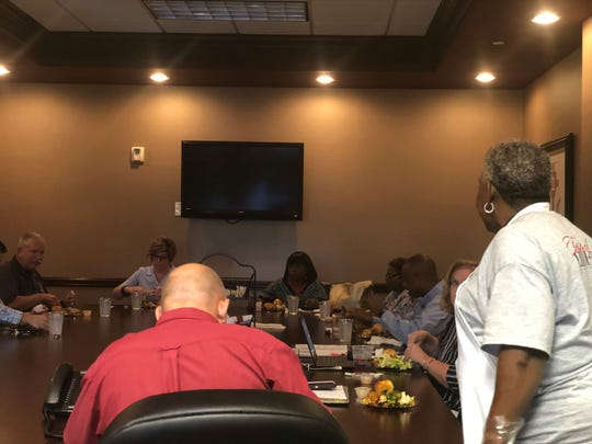 The JMCSS board had a reconciliation dinner Thursday to resolve what's been months of strife between them. Liberty High's Culinary Program catered the dinner.