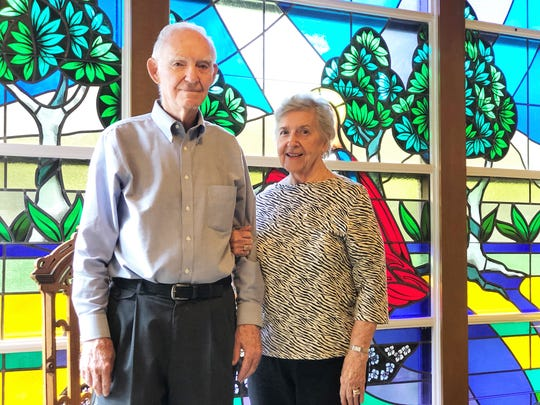 """On Dec. 26, FISH volunteers Ron and Betty Johnson will have been married for 63 years. They met when Betty was 11 years old and riding her bike past his house. """"He was sitting on his front porch on a swing. We still have that swing, and his mother said I would make a cute little girlfriend,"""" said Betty Johnson. """"My Dad refused to give me away at our wedding at first, because I was his fishing buddy."""""""