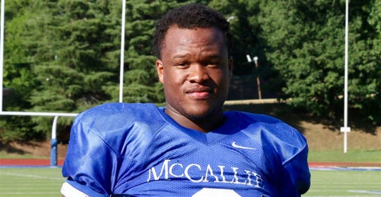 Jay Hardy is a defensive lineman from McCallie School in Chattanooga