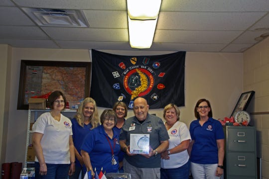 Blue Star Mothers of America, Inc. Ohio Chapter 10  recently donated two VR glasses to support Honor Flight at Home.