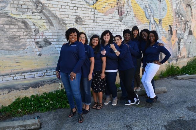 United Housing Inc. staff. The nonprofit celebrates its 25th anniversary this month.