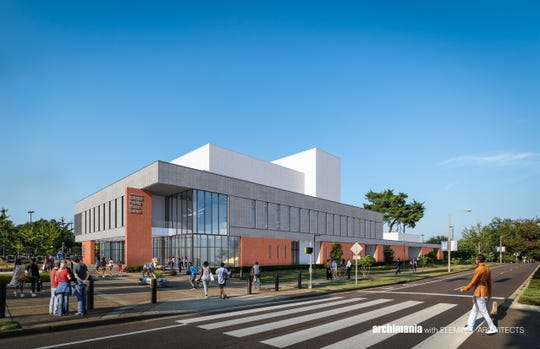 The University of Memphis's new music center will be built at 3800 Central Avenue. The Scheidt Family Music Center is expected to open in spring of 2021.