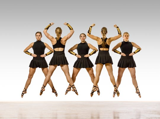 Trinity Irish Dance Company dancers