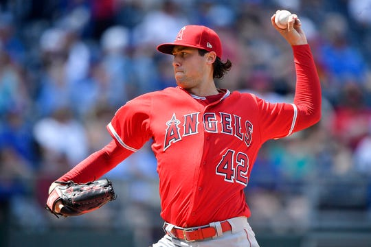 Angels starting pitcher Tyler Skaggs was found dead in his hotel room on July 1.