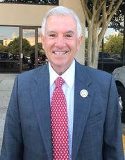 Baton Rouge businessman Eddie Rispone, shown here as he arrived at the Louisiana Secretary of State's office Aug. 6 to qualify for the governor's election, has earned an endorsement from the Louisiana Association of Business and Industry.