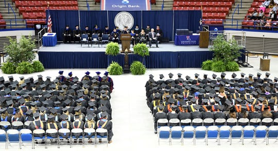 Louisiana Tech University awarded degrees to 255 graduates Thursday during its summer commencement.