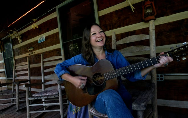 Americana songwriter Kelsey Waldon on Monday, Aug. 19, 2019, in Ashland City, Tenn. Waldon is releasing her new album on John Prine's Oh Boy Records. She is the first artist to be signed to the label in 15 years.