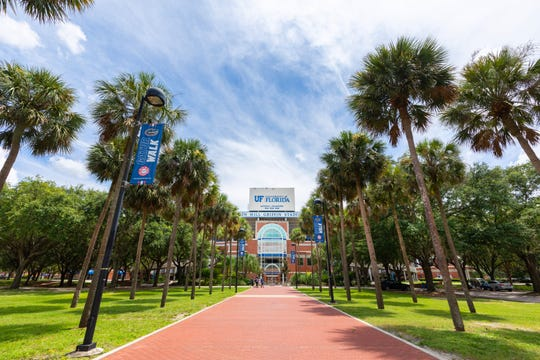 Here's a view of the University of Florida.