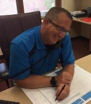 Shawn Wilhelm is the new Utica Middle School principal.