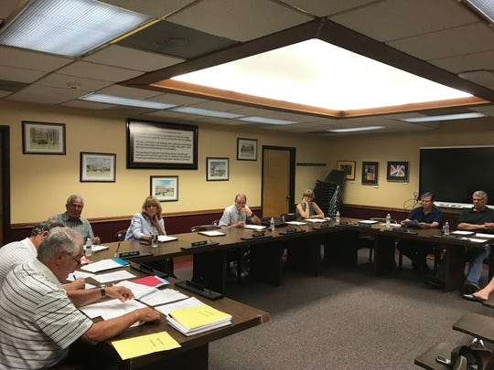 The August 22 meeting of the Dumont Board of Education, which is involved in contact negotiations with the Dumont Education Association.