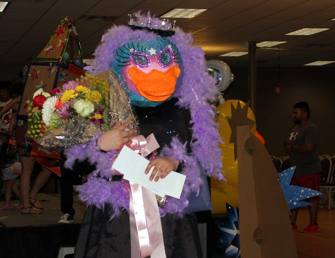 Annalisse Gomez, 17, was crowned the 2019 Great American Duck Queen Thursday night at the Mizkan America Duck Royalty Pageant held at the Mimbres Valley Special Events Center in Deming, NM.