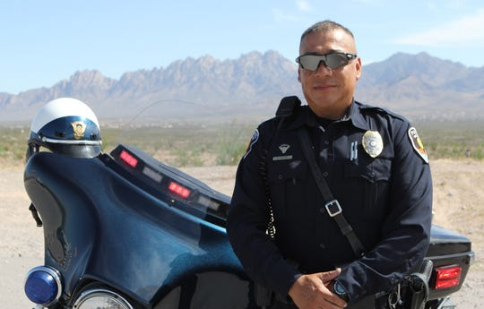Retired Las Cruces Police Department traffic officer Narciso Valdez, lost his battle with cancer, Thursday Aug. 23, 2019.