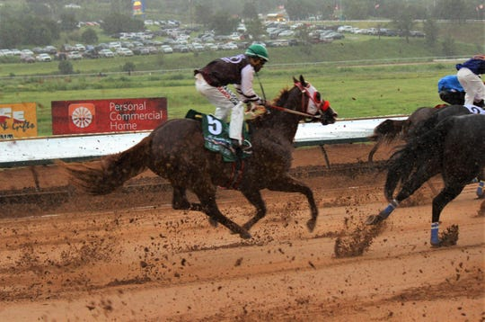 Quarter horse racing is a major draw for Lincoln County during the summer.