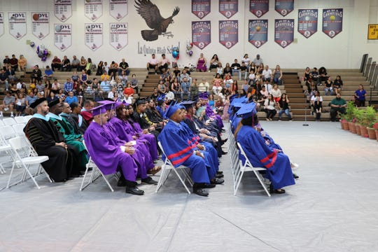 Soon to be Desert Sands Unified School District graduates