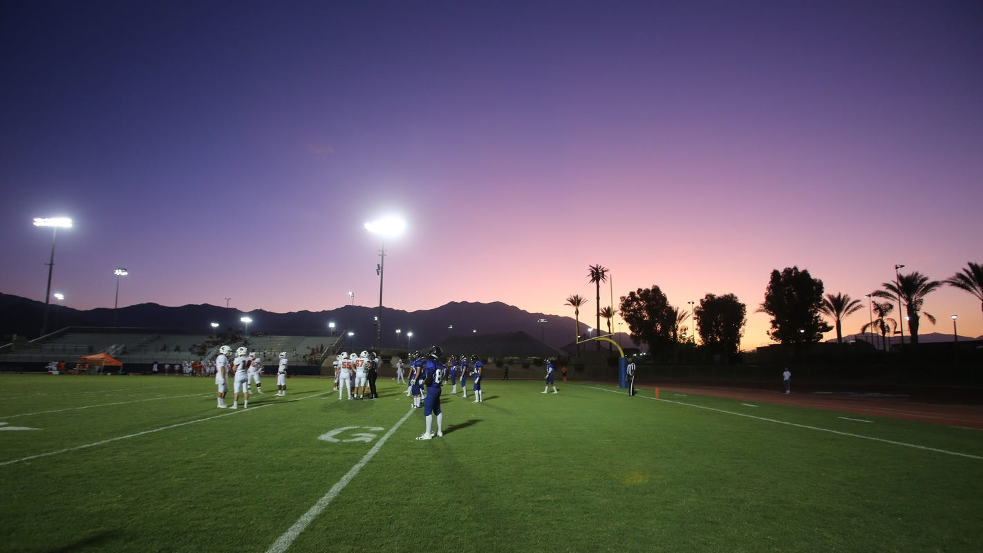 LIVE: Friday's high school football scores: Rivalry week with Coachella Valley at Indio, Palm Desert at La Quinta