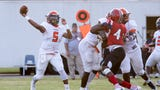 Watch AV Smith score four touchdowns as Escambia beat West Florida 34-13 in its season-opening game for 2019.